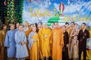 Chùa La Dương tổ chức khóa tu, ra mắt CLB trẻ