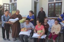 Chùa, Phật tử ở Đồng Tháp, Nghệ An làm từ thiện