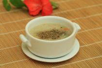 Món chay cuối tuần: Cháo nấm