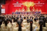 Gần 1.500 bạn trẻ về chùa Tam Chúc tu 7 ngày