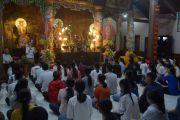 250 học sinh về chùa Hoa Nghiêm cầu an trước mùa thi