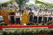 Hà Nội: Động thổ phục dựng di tích chùa Báo Ân